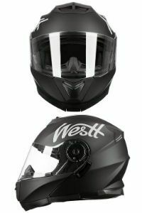 westt torque x casco moto modular