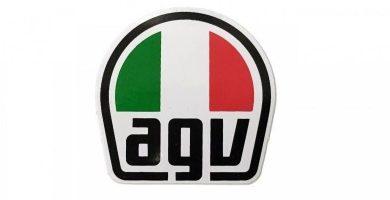 agv logo cascos de moto