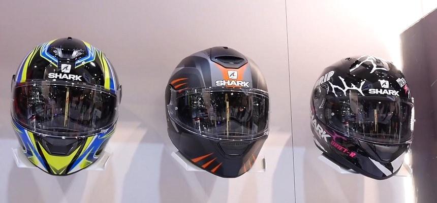 shark cascos de moto